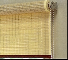 Woven Timber Blinds roller